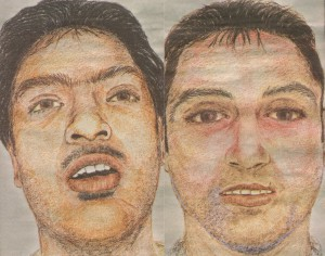 Two Asian men found on a roadside in Witham, Essex in June 2006