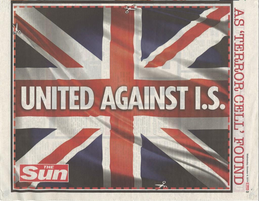 Sun union jack