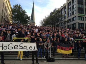 Football fans from across Germany joined with neo-Nazi groups to form Hooligans Against Salafists