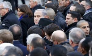 bibi at freedom march paris