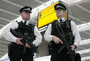 police at UK border