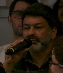 John Pandit from Asian Dub Foundation