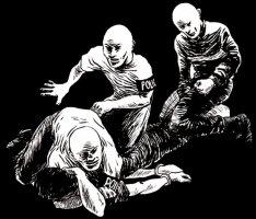 Illustration by Résistons Ensemble contre les violences policières et sécuritaires