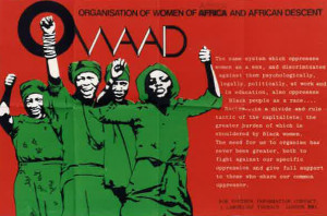 OWAAD flyer (credit: IRR Black History Collection)