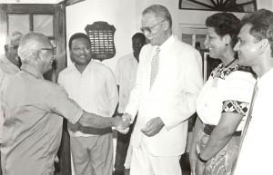 Jan Carew's last meeting with Cheddi Jagan