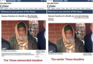 Times misleading headline