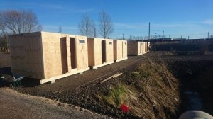 MSF-built camp in Grande-Synthe near Dunkirk (Credit: Raphaël Etcheberry/ MSF)