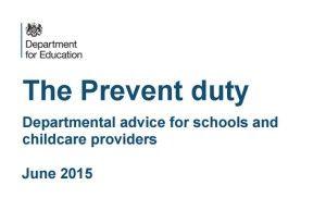 Prevent duty DfE