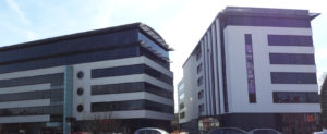 Hagley Road offices directly opposite Mr. Idly (© Sue Conlan)