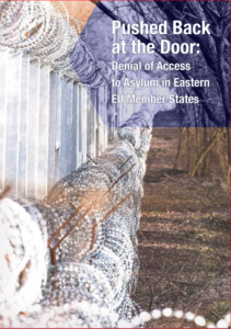 Cover of Hungarian Helsinki Committee report.
