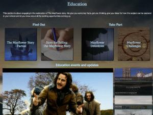 Mayflower 400 website