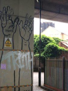Street art in RBKC (Credit: Colin Prescod)