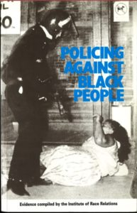 Cover of Policing against black people