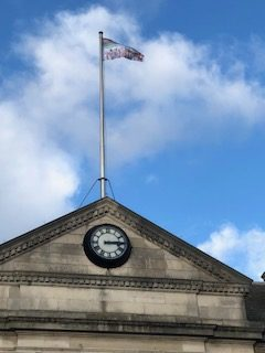 Flying the flag at Southall Town Hall