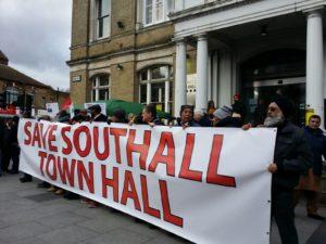 Demonstration to Save Southall Town Hall