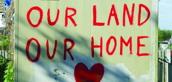 Our land our home