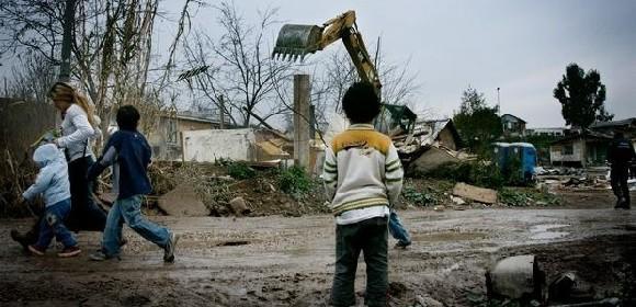 Roma eviction