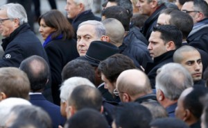 bibi at freedom march paris