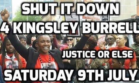 Justice or else Kingsley Burrell