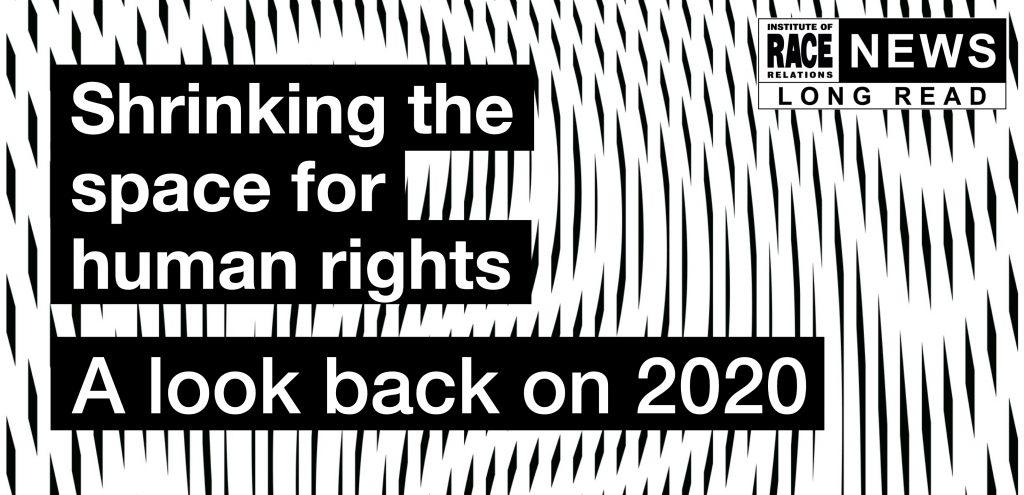 Shrinking the space for human rights - A look back on 2020