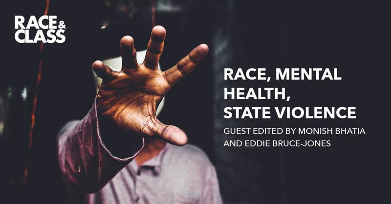 Cover of special issue on race, mental health, state violence