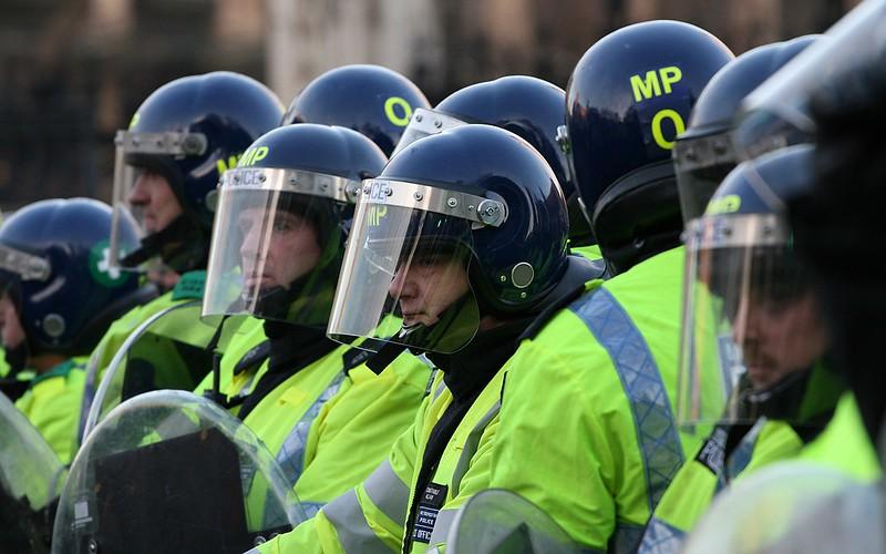 TSG Officers at a Student Protests. Photo Credit: Bob Bob Source: Flickr